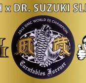 【新製品】DJ IZOH x DR. SUZUKI SLIPMATS (スリップマット)