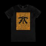Fnatic Black and Orange Logo Tee