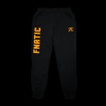 Fnatic Black and Orange Sweat Pants