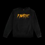 Fnatic Black and Orange Sweater