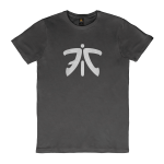 Fnatic Ess Logo Tee, Anthracite