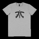 Fnatic Ess Logo Tee, Light Grey
