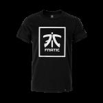 Fnatic Square Logo Premium T Black