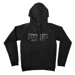 Fnatic Zipped Hoodie, Black Line Collection, Black